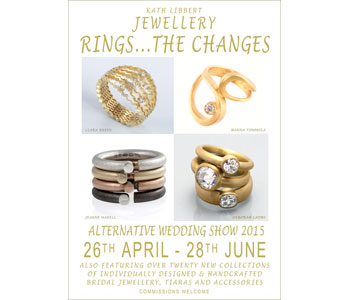 Rings...The Changes Exhibition Poster