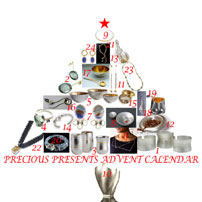 Precious Presents - Sparkling Silverware and Jewellery for Christmas. 1st Dec - 26th Jan 2014