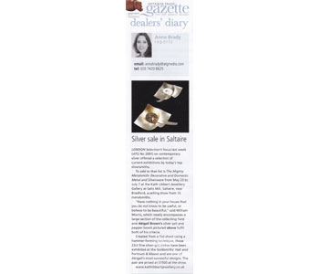 Antiques Trade Gazette 25th May 2013