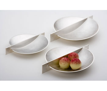 SilveCondiment dishes in fine silver